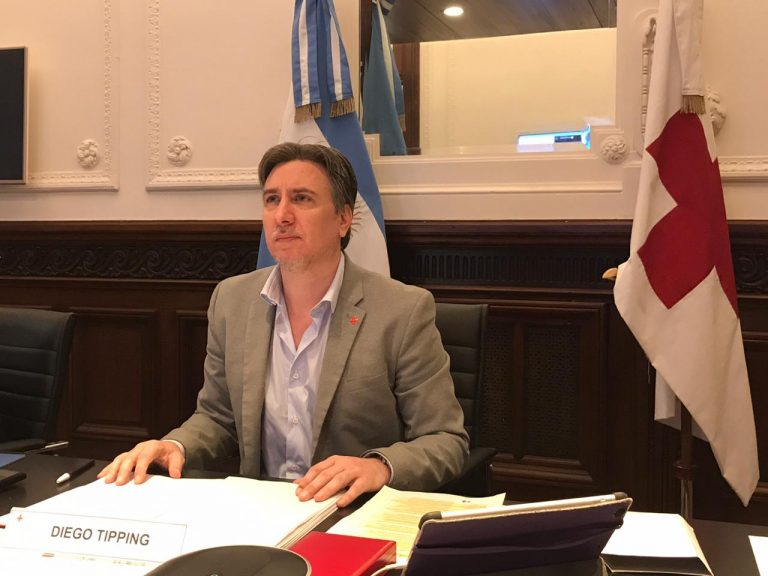 Diego Tipping Presidente Cruz Roja Argentina